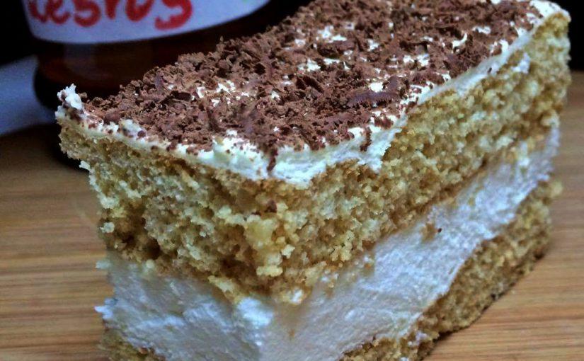 Ciasto miodowe z masą śmietankową