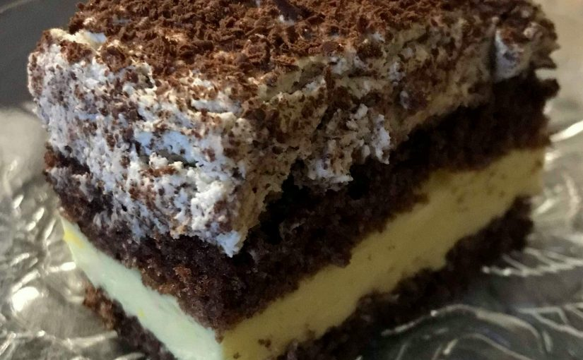 Ciasto cytrynowo-śmietankowe